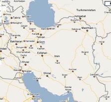 تعامل با نقشه ها به کمک فناوری Ajax